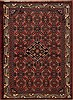 Hamedan Purple Hand Knotted 36 X 49  Area Rug 251-12595 Thumb 0