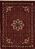 Hossein Abad Red Hand Knotted 39 X 50  Area Rug 251-12611 Thumb 0