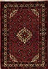 Hossein Abad Purple Hand Knotted 37 X 52  Area Rug 251-12615 Thumb 0