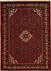 Hossein Abad Red Hand Knotted 35 X 52  Area Rug 251-12630 Thumb 0