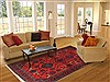 Jaipur Red Hand Knotted 70 X 100  Area Rug 100-12669 Thumb 4