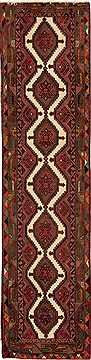 Persian Hamedan Multicolor Runner 10 to 12 ft Wool Carpet 12717