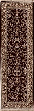 "Tabriz Red Runner Hand Knotted 2'6"" X 8'0""  Area Rug 251-12760"