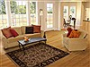 Agra Beige Hand Knotted 42 X 63  Area Rug 251-12881 Thumb 5