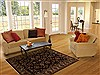 Agra Black Hand Knotted 40 X 511  Area Rug 251-12897 Thumb 5