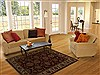 Agra Red Hand Knotted 310 X 60  Area Rug 251-12900 Thumb 5