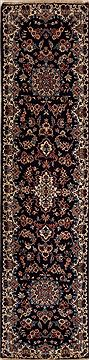 Persian Mashad Blue Runner 6 to 9 ft Wool Carpet 12986
