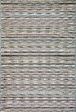 Dynamic BRIGHTON Blue Rectangle 5x8 ft  Carpet 120341
