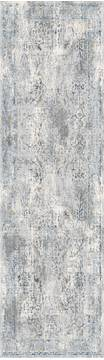 "Dynamic ICON Grey Runner 2'2"" X 7'7"" Area Rug IC289312900 801-121182"