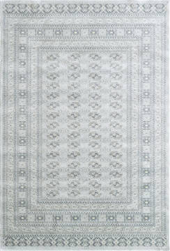 Dynamic ISFAHAN Grey Rectangle 9x13 ft  Carpet 121393