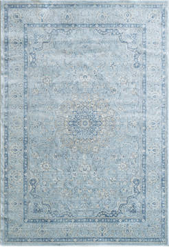Dynamic ISFAHAN Blue Rectangle 9x13 ft  Carpet 121421