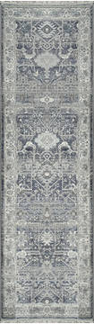 "Dynamic JUNO Blue Runner 2'2"" X 7'5"" Area Rug JN286881550 801-121443"