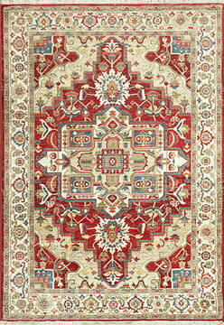 "Dynamic JUNO White Runner 2'2"" X 7'5"" Area Rug JN286882130 801-121457"