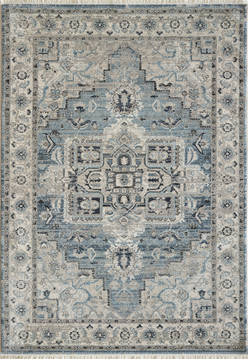 "Dynamic JUNO Blue 5'3"" X 7'7"" Area Rug JN696882500 801-121467"