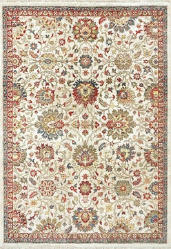 "Dynamic JUNO White 2'0"" X 3'11"" Area Rug JN246883130 801-121493"