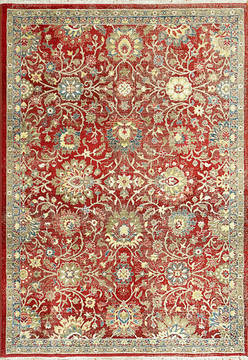 "Dynamic JUNO Red Runner 2'2"" X 7'5"" Area Rug JN286883300 801-121499"