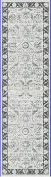 "Dynamic PEARL Grey Runner 2'2"" X 7'7"" Area Rug PE283740190 801-122148"