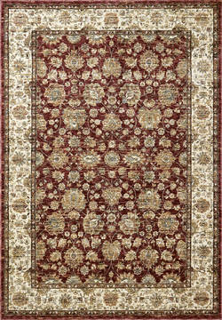 "Dynamic PEARL Red 2'0"" X 3'5"" Area Rug PE243743130 801-122163"