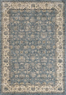 "Dynamic PEARL Blue 2'0"" X 3'5"" Area Rug PE243743500 801-122170"