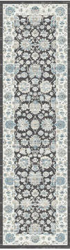 "Dynamic PEARL Grey Runner 2'2"" X 7'7"" Area Rug PE283743990 801-122176"