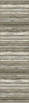 "Dynamic REGAL Beige Runner 2'2"" X 7'7"" Area Rug RG28897202959 801-122558"