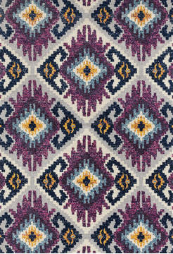 "United Weavers Abigail Purple 1'0"" X 3'0"" Area Rug 713 21482 24 806-123289"