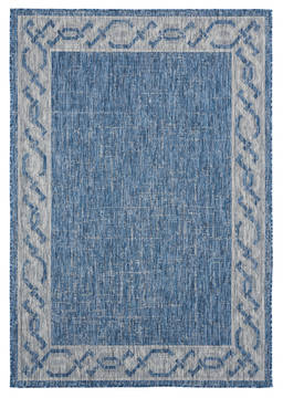 "United Weavers Augusta Blue 5'0"" X 7'0"" Area Rug 3900 10060 69 806-123337"