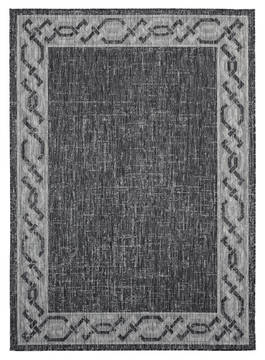 "United Weavers Augusta Black 5'0"" X 7'0"" Area Rug 3900 10070 69 806-123341"