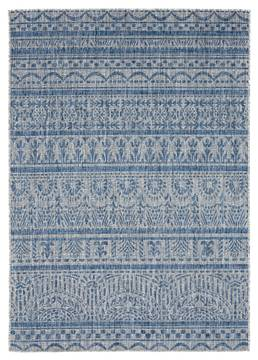 "United Weavers Augusta Blue 5'0"" X 7'0"" Area Rug 3900 10160 69 806-123347"