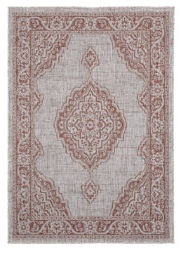 "United Weavers Augusta Brown 5'0"" X 7'0"" Area Rug 3900 10229 69 806-123353"
