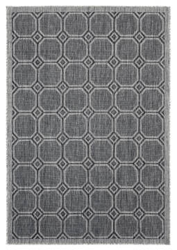 "United Weavers Augusta Black 5'0"" X 7'0"" Area Rug 3900 10670 69 806-123389"