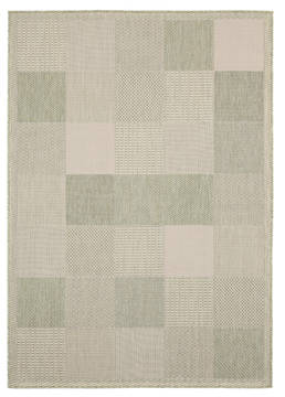 "United Weavers Augusta Green 5'0"" X 7'0"" Area Rug 3900 10745 69 806-123393"