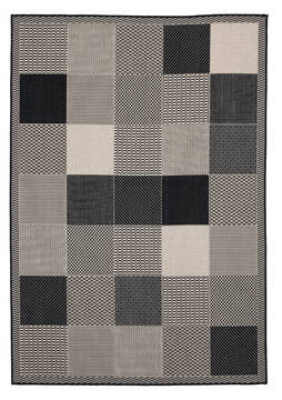 "United Weavers Augusta Black 5'0"" X 7'0"" Area Rug 3900 10770 69 806-123397"
