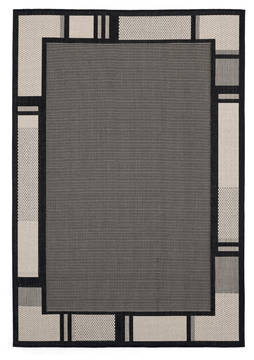 "United Weavers Augusta Black 5'0"" X 7'0"" Area Rug 3900 10870 69 806-123405"