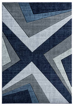 "United Weavers Bristol Blue 5'0"" X 7'0"" Area Rug 2050 10064 69 806-123561"