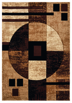 "United Weavers Bristol Brown Runner 2'0"" X 7'0"" Area Rug 2050 10150 28C 806-123595"
