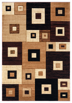 "United Weavers Bristol Brown Runner 2'0"" X 7'0"" Area Rug 2050 10250 28C 806-123625"