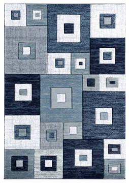 "United Weavers Bristol Blue Runner 2'0"" X 7'0"" Area Rug 2050 10264 28C 806-123631"