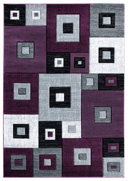 "United Weavers Bristol Purple 1'0"" X 2'0"" Area Rug 2050 10282 24 806-123642"