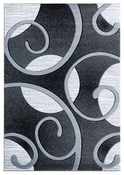 "United Weavers Bristol Grey 1'0"" X 2'0"" Area Rug 2050 10372 24 806-123660"