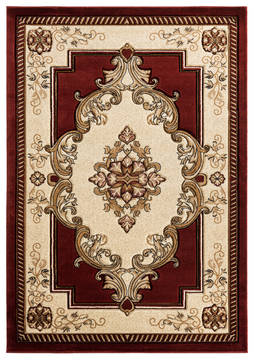 "United Weavers Bristol Red Runner 2'0"" X 7'0"" Area Rug 2050 10534 28C 806-123715"