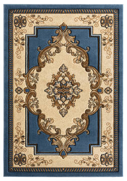 "United Weavers Bristol Blue Runner 2'0"" X 7'0"" Area Rug 2050 10560 28C 806-123733"
