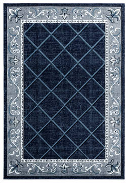 "United Weavers Bristol Blue Runner 2'0"" X 7'0"" Area Rug 2050 10964 28C 806-123775"
