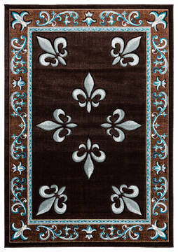 "United Weavers Bristol Blue 1'0"" X 2'0"" Area Rug 2050 11069 24 806-123798"