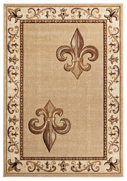 "United Weavers Bristol Beige Runner 2'0"" X 7'0"" Area Rug 2050 11226 28C 806-123817"