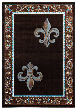 "United Weavers Bristol Brown 1'0"" X 2'0"" Area Rug 2050 11250 24 806-123822"