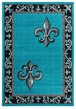 "United Weavers Bristol Blue 1'0"" X 2'0"" Area Rug 2050 11269 24 806-123828"