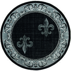 "United Weavers Bristol Grey Round 7'0"" X 7'0"" Area Rug 2050 11272 88R 806-123838"
