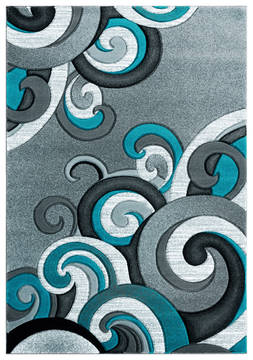 "United Weavers Bristol Blue 1'0"" X 2'0"" Area Rug 2050 11369 24 806-123852"