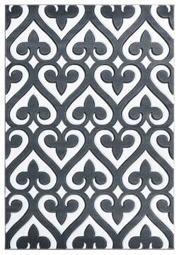 "United Weavers Bristol Grey 1'0"" X 2'0"" Area Rug 2050 11472 24 806-123876"